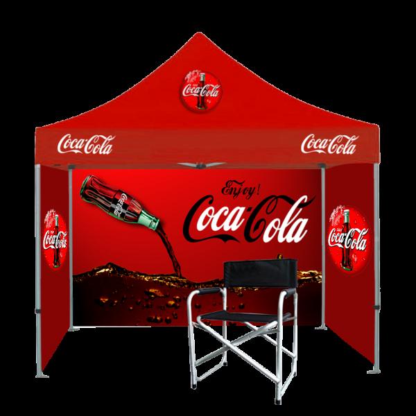 Custom Printed Tents Package - 20