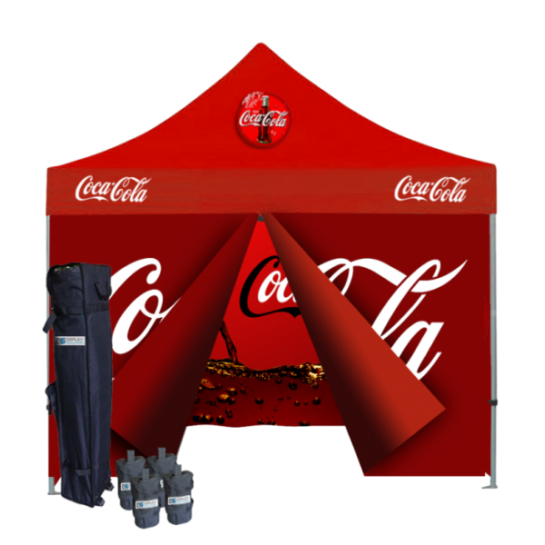Custom Printed Tents Package - 5