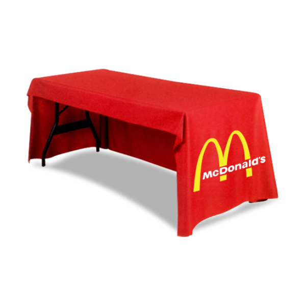 3 Sided Custom Full Color Table Cover 1