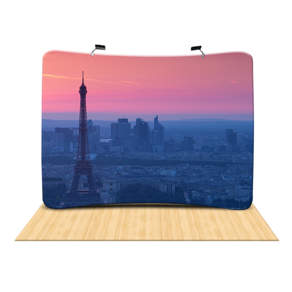 Graphics Replacement (Curved Tension Fabric Displays)