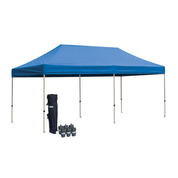 10' W X 20' H Canopy Tent With Aluminum Frame 40mm (Commercial Grade) - Blue
