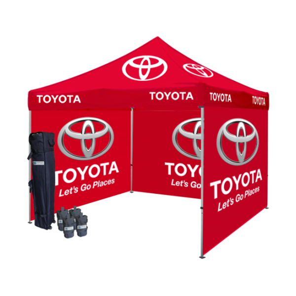 Logo Printed Tent Package #4