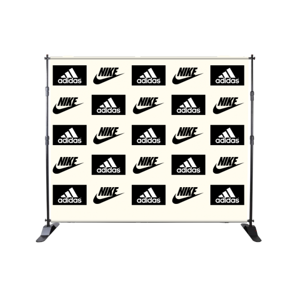 8ft X 10ft Fabric Step & Repeat Banner Stand
