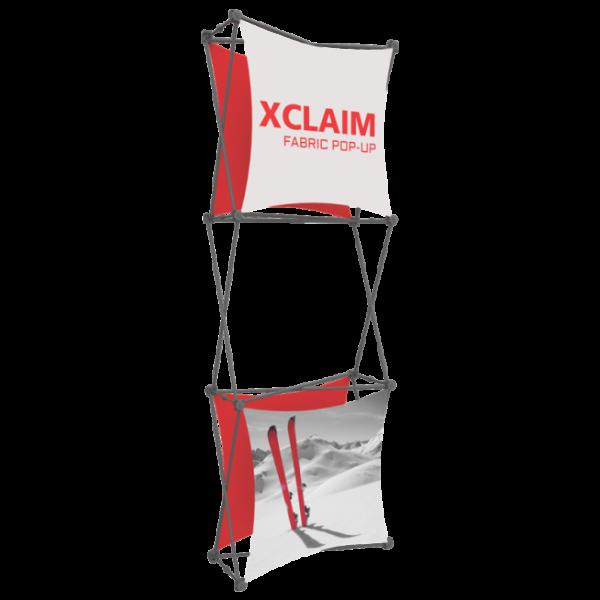 Xclaim 2.5ft Fabric Popup Display Kit 03