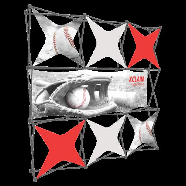 Xclaim 8ft Fabric Popup Display Kit 06